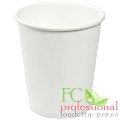 Бумажный стакан     100мл D62 мм 1-сл для горячих напитков БЕЛЫЙ   ''SMG''   1/25/600