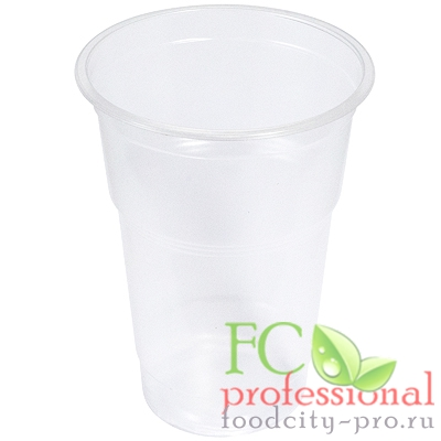 Пластиковый стаканчик     500мл D95 мм PP ПРОЗРАЧНЫЙ   ''ФП''   1/100/2000