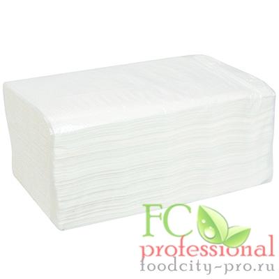 Бумажное листовое полотенце     230х240 мм 1-сл 250 лист/уп V-сложения БЕЛОЕ   1/20