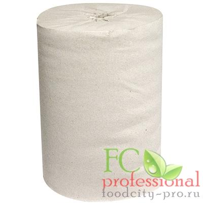 Бумажное полотенце     Н190хD130 мм 1-сл 120 м в рулоне стандарт с центр вытяжением СЕРОЕ   1/6