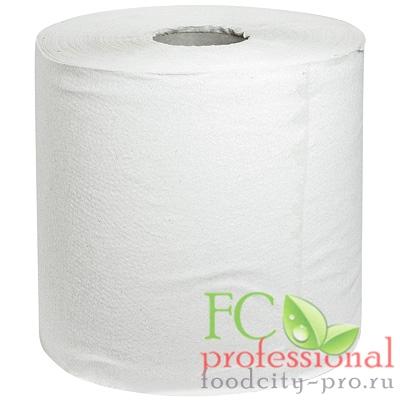 Бумажное полотенце     Н190хD200 мм 1-сл 300 м в рулоне эконом СЕРОЕ   1/6
