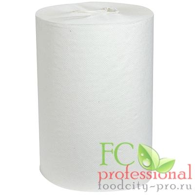 Бумажное полотенце     Н190хD120 мм 2-сл 60 м в рулоне стандарт с центр вытяжением БЕЛОЕ   1/12