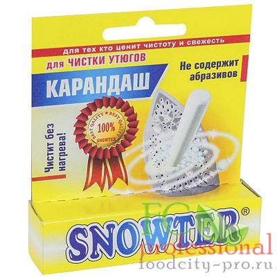 Средство чистящее    1 шт/уп для утюгов без нагрева SNOWTER карандаш   ''АЦНТ''   1/48