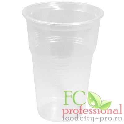 Пластиковый стаканчик     500мл D90 мм PP ПРОЗРАЧНЫЙ   ''МОПС''   1/100/2400