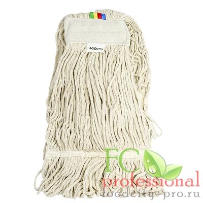 - моп (mop) для швабры насадка     веревочная прошитая KENTUCKY 400 г ХЛОПОК   ''TEXTOP''   1/25