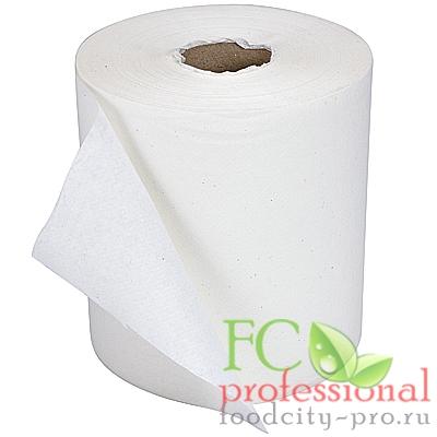 Бумажное полотенце     Н190хD190 мм 1-сл 300 м в рулоне эконом со втулкой БЕЛОЕ   1/6